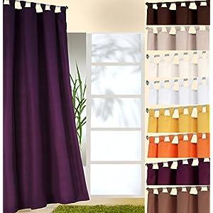 Vorhang Blickdicht Lichtdurchlässig vorhang blickdicht kräuselband lila deine wohnideen de