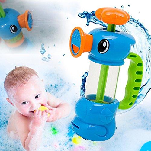 ECMQS Baby Badespielzeug, ABS Sea Horse Sprinkler Pumpen Design Spielzeug Für Kinder Geschenk