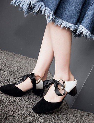 LFNLYX Chaussures Femme-Mariage / Bureau & Travail / Habillé / Décontracté / Soirée & Evénement-Noir / Rose / Rouge / Gris / Orange-Gros Talon- Pink
