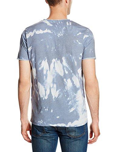 JACK & JONES Herren T-Shirt Jortie Tee Ss Crew Neck Mehrfarbig (Mykonos Blue Fit:SLIM)