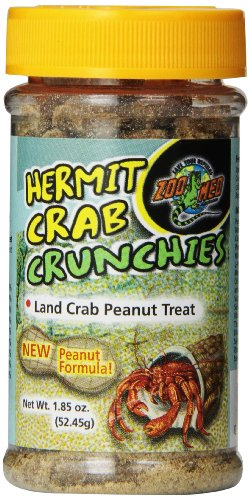 Zoo Med Hermit Crab Peanut Crunchies, 1.85-Ounce -