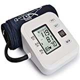 LQUIDE Precise Blood Pressure Measurement Upper Arm,Große Manschetten, LCD-Display Mit Hintergrundbeleuchtung, Vollautomatisches Digital-Blutdruckmessgerät