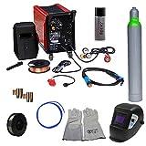 Matrix Schutzgas Schweißgerät Mig-Mag 200 SET 7