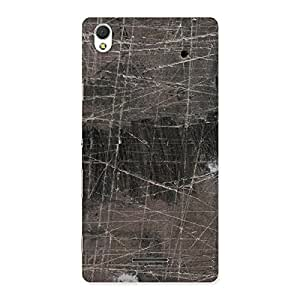 Neo World Grey Marble Back Case Cover for Sony Xperia T3