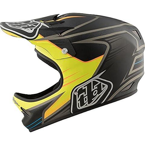 Troy Lee Designs Downhill-MTB Helm D2 Schwarz Gr. M/L