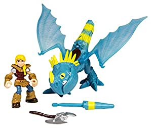 Dragons – Dragon et son Dresseur – Astrid & Tempête – 2 Figurines