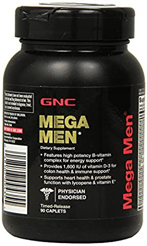 GNC Mega Men Multivitamins -90