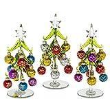 Glas Weihnachtsbaum