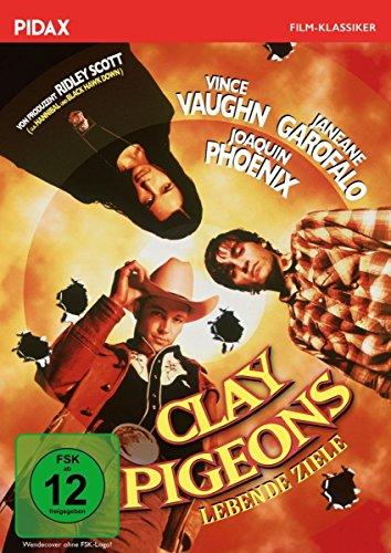 Clay Pigeons - Lebende Ziele / Rabenschwarze Krimi-Komödie mit Joaquin Phoenix und Vince Vaughn (Pidax Film-Klassiker)