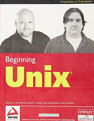 Beginning UNIX, w/CD