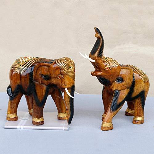 turen Statuen Dekoartikel Südostasien Lucky Elephant Thai Crafts Dekoration Wohnaccessoires Eröffnung Geschenke ()