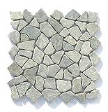 M-010 Marmor Naturstein Badezimmer Fliesen Bruchstein Mosaik Stein Wand Boden Dekoration