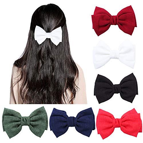 6 piezas pinzas pelo grandes mujeres, pinzas cabello