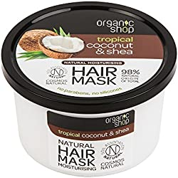 Organic Shop Maschera Capelli Cocco e Karité - 278 ml