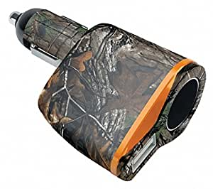 Realtree Camo voiture 12V adaptateur allume-cigare 2 Chargeur 1 Amp USB