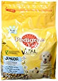 Pedigree Junior Medium Hundefutter Huhn und Reis, 3 er Pack (3 x 3 kg)
