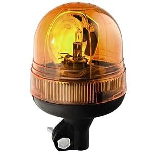 Gyrophare boule 12 Volts sur tige