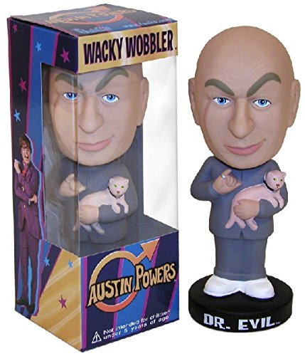 Austin Powers DR EVIL Bobble Head 16 cm by (Mr Evil Kostüm)