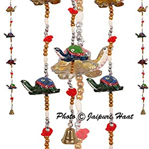 Jaipuri Haat Superior Quality Tortoise Door/Wall Hanging Home Dã©Cor In Pair
