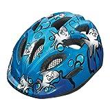 Abus Unisex - Kinder Fahrradhelm Smiley, sharky ocean, 50-55 cm, 48028-7