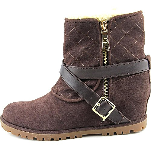 Marc Fisher Lynsie Femmes Daim Bottine Dark Brown