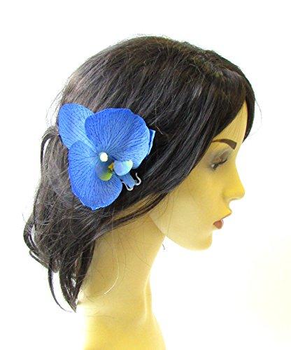 Blume Haar Pin Vintage Rockabilly 1950er Hawaiian Corsage 1513Stil der Zwanzigerjahre (1950er Haar)