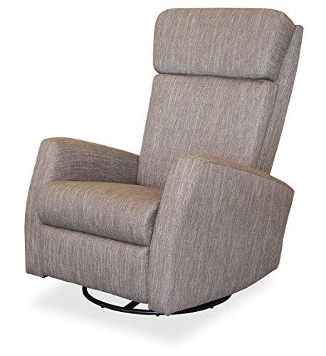 KMH®, Fernsehsessel/Relaxsessel *Fjon* - grau (drehbar/verstellbar) (#204615)