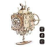 ROKR 3D Holzpuzzle mit Getriebe Hand-Handwerk Musikbox-Mechanische Modellbau Kits Spielzeug für Kinder Oder Erwachsene Present für Geburtstag / Kinder Tage / Ostern(Submarine)