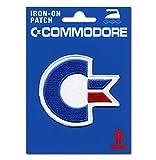 Logoshirt Commodore Aufnäher - C64 Patch - Nerd Aufbügler - Lizenziertes Originaldesign