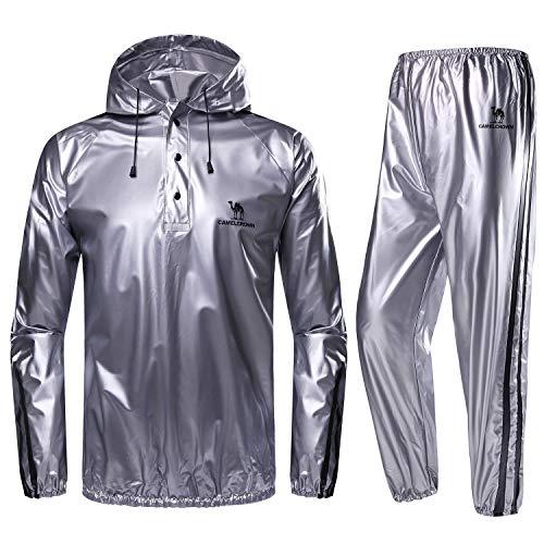 Camel Sport Trainingsanzug Schwitzanzug Leichte Suit Hooded Sweat Sauna Herren Super Crown Für n8kOPw0X