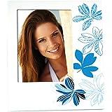 Zep cadre photo Erika, bois, blanc/bleu, 15x 15x 20cm
