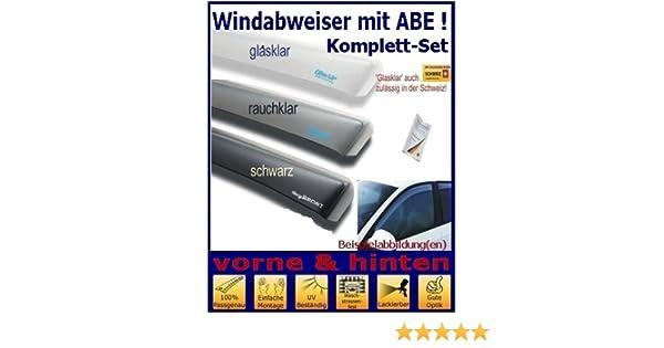 ClimAir CLS0033581D 3581D Windabweiser Profi vorne schwarz,