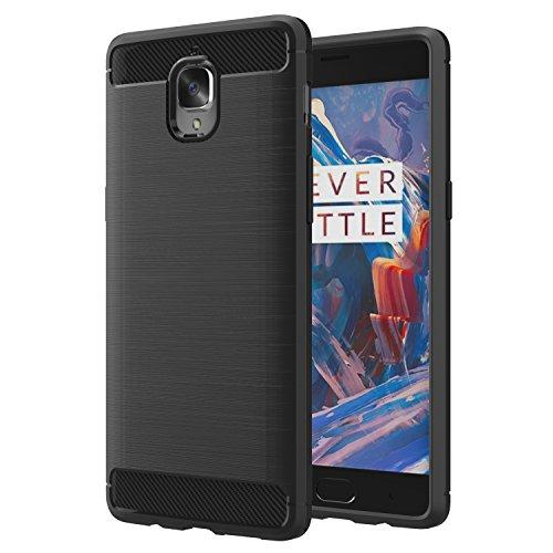 MoKo OnePlus 3 / OnePlus 3T Hülle - Premium Ultra Slim Leicht weiches TPU Protector Phone Case Handy Schutzhülle Schale Bumper für OnePlus 3 / OnePlus 3T Smartphone 5.5