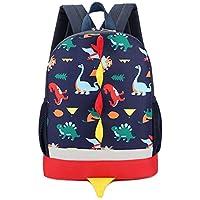 Kanpola Toddler School Bag Boys Girls Kids Dinosaur Pattern Animals Backpack Shoulder Bags