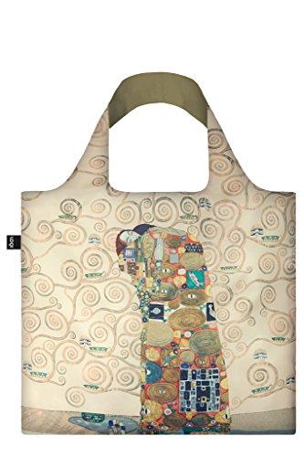 LOQI Museum Gustav Klimt The Fulfilment Bag Borsa da spiaggia, 50 cm, 20 liters, Multicolore (Multicolour)