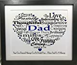 Best Birthday Gifts For All Birthday Gift For Dads - PERSONALISED DAD BIRTHDAY GIFT CHRISTMAS GIFT FATHERS DAY Review