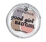 Essence Good Girl bad girl Nr. 01 Hallo Sweetheart Inhalt: 5g Farbe: Gold, Flieder, Rosa, pastell Rosa Quattro Eyeshadow Lidschatten in vier Farben für endlos viele Looks.