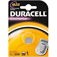 Duracell CR1620 D 1-BL (DL 1620) Lithium 3V non-rechargeable battery - Non-Rechargeable Batteries (Lithium, Button/coin, 3 V, 1 pc(s), CR1620, 70 mAh)
