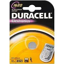 Duracell CR1620 D 1-BL (DL 1620) Litio 3V batería no-recargable - Pilas (Litio, Botón/moneda, 3 V, 1 pieza(s), CR1620, 70 mAh)