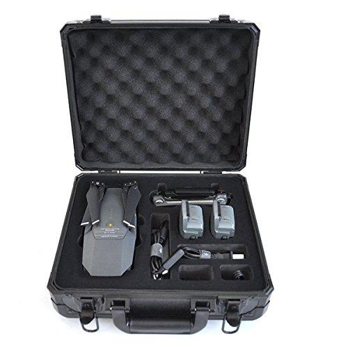 Koffer For DJI Mavic Pro Case Zubehör Waterproof Hard-shell Box Anti-Shock Suitcase with Foam Black by Crazepony-UK Premium Hardshell Case