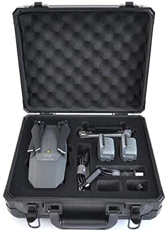 Valise for DJI Mavic Pro Sac à dos dos dos Carrying Case Waterproof Hard-shell Box Anti-Shock Suitcase Black by Crazepony-UK | Digne