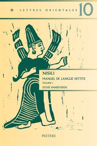 Nisili: Manuel De Langue Hittite par S Vanseveren