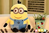 #7: Minion Soft Toy Small For Kids (Girls and Boys) Birthday Party (Return Gifts ) Yellow and Blue Under 500 25 CM