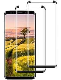 Samsung Galaxy S9/S9 Plus Hülle, Spiegel Schutzhülle PU-Leder Flip Handy Case Tasche mit Standfunktion für Samsung Galaxy S9 Plus Schwarz