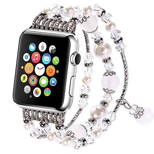 Apple Watch Armband , iwatch Elastische Stretch Ersatz Armbanduhr Armband Uhrenarmbänder Apple Watch Serie 3 Serie 2 Serie 1 38mm