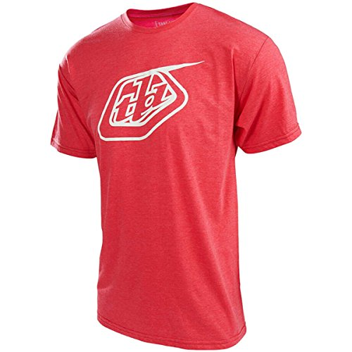 Troy Lee Designs T-Shirt Logo Rot meliert/Rot Rot