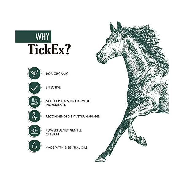 Flea and ticks repellent spray by TickEx | Flea treatment for cats, dogs & horses | Tick remover & flea spray 100ml | Flea treatment for the home 5