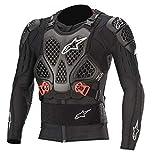 Alpinestars Bionic Tech V2 - Giacca protettiva per petto, Uomo, 6506520-13, Black Red, M