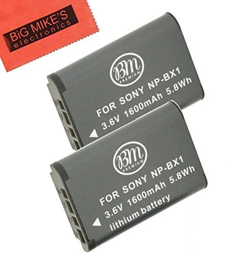 BM Premium Pack Of 2 NP-BX1 NP-BX1/M8 Batteries for Sony CyberShot DSC-HX80 HDR-AS50 DSC-RX1 DSC-RX1R DSC-RX1R II DSC-RX100 DSC-RX100M II DSC-RX100 III DSC-RX100 IV DSC-H300 DSC-H400 DSC-HX300 DSC-HX50V DSC-WX300 DSC-WX350 HDR-AS10 HDR-AS15 HDR-AS30V HDR-AS100V HDR-AS100VR HDR-AS200V HDR-AS200VR HDR-CX240 HDR-CX405 HDR-CX440 HDR-PJ275 HDR-PJ440 HDR-MV1 FDR-X1000V FDR-X  available at amazon for Rs.2499