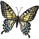 Gran metal Decoración de mariposas de colores Art de pared (31cm x 35cm